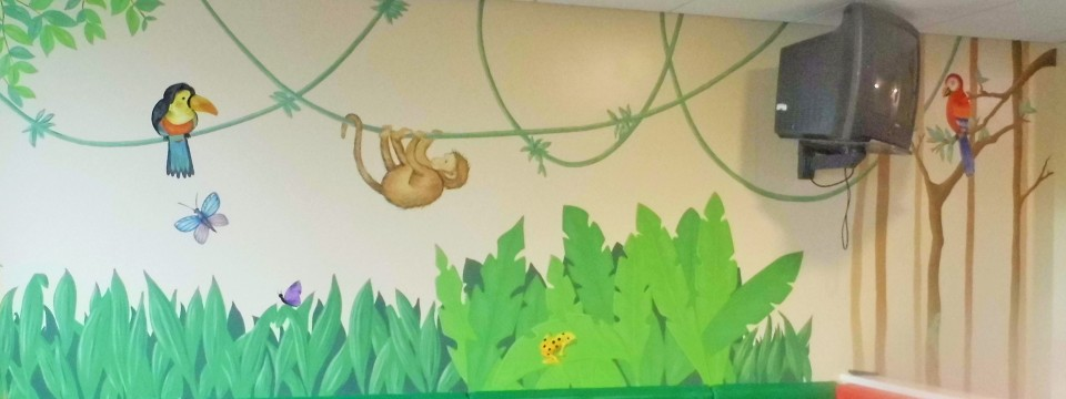 Children's Jungle Mural